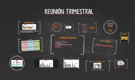 Copy of Copy of REUNIÓN TRIMESTRAL