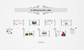 la Historia de Cuba