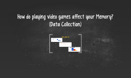 How do playing video games affect your Memory?