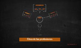 Ética general de las profesiones
