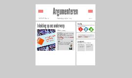 Argumenteren