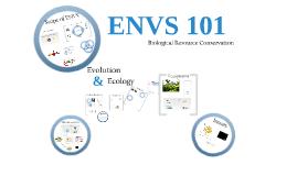 ENVS 101