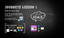 Journeys Lesson 1