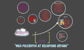 """""""mga polosipiya at relihiyong asyano"""""""