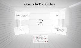 Gender In The Ktchen