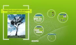 Copy of Copy of PROYECTO ESCUELA COMUNIDAD: HACIA LA CONSTRUCCION DE NUEVAS