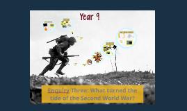 Year 8: World War Two