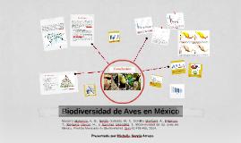 Biodiversidad de Aves en México