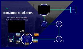 DERIVADOS CLIMATICOS