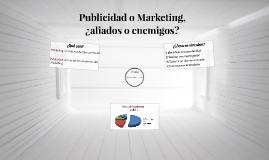 Publicidad o Marketing,
