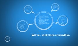 Wilma - sähköinen reissuvihko