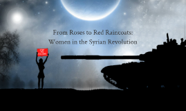 Women in the Syrian Revolution