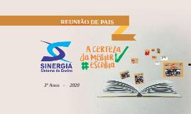 REUNIÃO DE PAIS 3º ANO