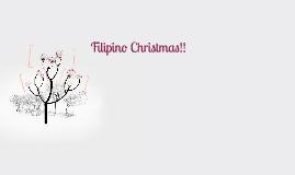 Filipino Christmas!!