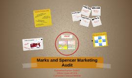 Copy of Marks and Spencer Marketing Audit