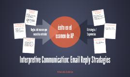 Interpretive Communication: Email Reply Stradagies