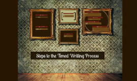 Copy of Steps to the Timed Writing Process
