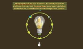 Copy of Biogasanlagen