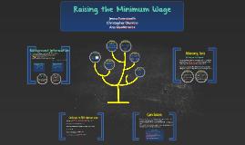 Copy of Unemployment & Minimum Wage