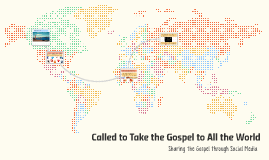 """Called to go into all the world to preach my gospel unto ev"