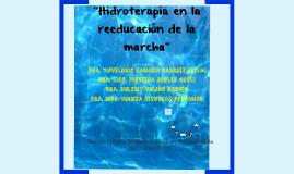 Hidroterapia en la reeducacion de la marcha