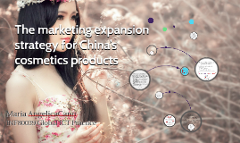 China's cosmetics market