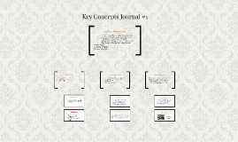 Key Concepts Journal #1
