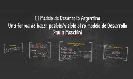 12) El Modelo de Desarrollo Argentino