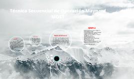 Copy of Copy of MOST-Ing. Métodos