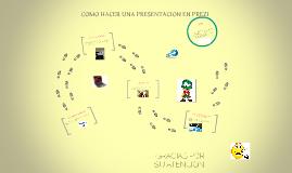 Copy of COMO HACER UNA PRESENTACION EN PREZI