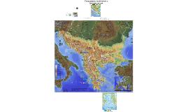 Балкански полустров - брегова линия