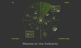 Names in the Industry