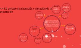Copy of EL proceso de planeacin y ejecucion de la exportacion