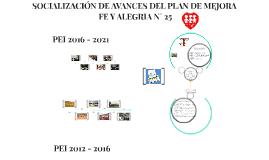 PEI 2016 - 2021