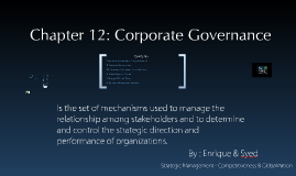 Copy of Chapter 10: Corporate Governance