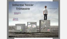 Informe Tercer Trimestre