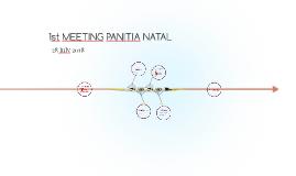 1st MEETING PANITIA NATAL