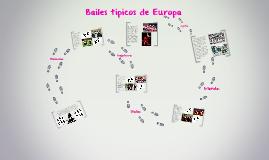 Bailes tipicos de Europa