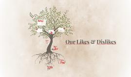 Copy of Describing our Likes & Dislikes