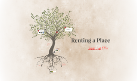 Renting a Place