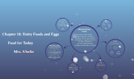 Chapter 18: Dairy Foods and Eggs