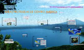 Copy of AREAS PROTEGIDAS DE CENTRO AMERICA
