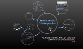 TEORÍA DE LAS CONTIGENCIAS
