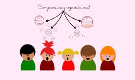 Comprensión y expresión oral