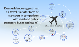 Does evidence suggest that air travel is a safer form of tra
