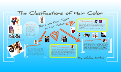 the clasifications of hair color two