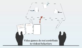 Video games do not contribute to violent behaviors