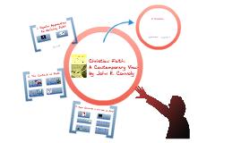 Christian faith - A contemporary View