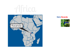 RWANDA ZAIRE Border