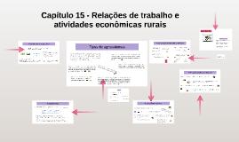 Capítulo 15 - Relações de trabalho e atividades econômicas r
